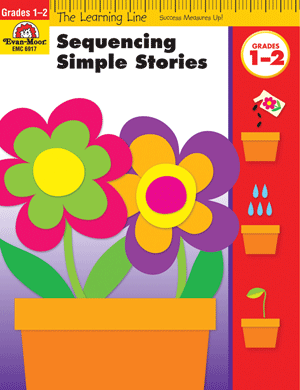 Picture of Learning Line: Sequencing Simple Stories, Grades 1-2 - Activity Book