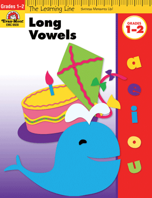 Picture of Learning Line: Long Vowels, Grades 1-2 - Activity Book