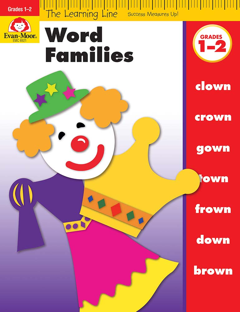 Picture of Learning Line: Word Families, Grades 1-2 - Activity Book