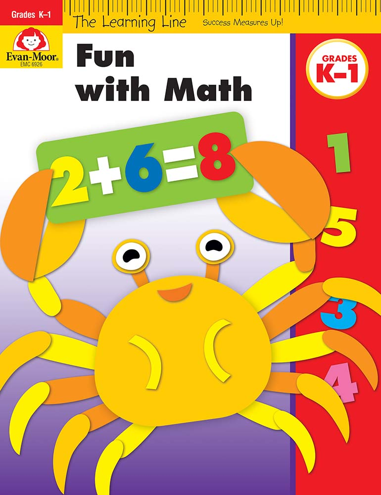 Picture of Learning Line: Fun with Math, Grades K-1 - Activity Book