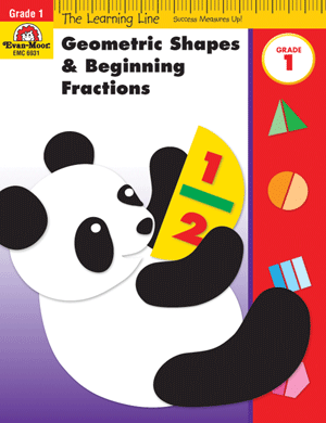 Picture of Learning Line: Geometric Shapes and Fractions, Grade 1 - Activity Book