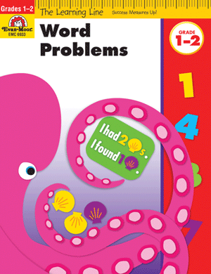 Picture of Learning Line: Word Problems, Grades 1-2 - Activity Book