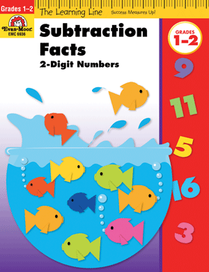 Picture of Learning Line: Subtraction Facts, Grades 1-2 - Activity Book