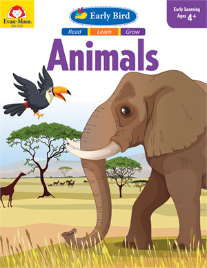 Picture of Early Bird: Animals - Activity Book