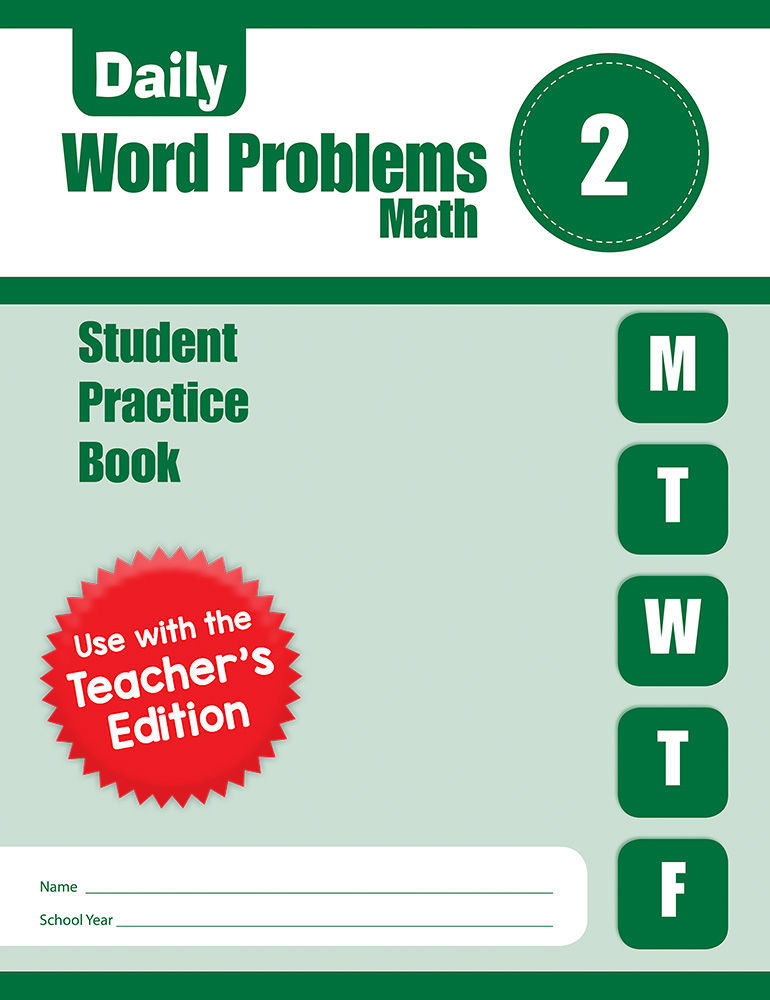 Picture of Daily Word Problems, Grade 2 - Student Workbook (5-pack)