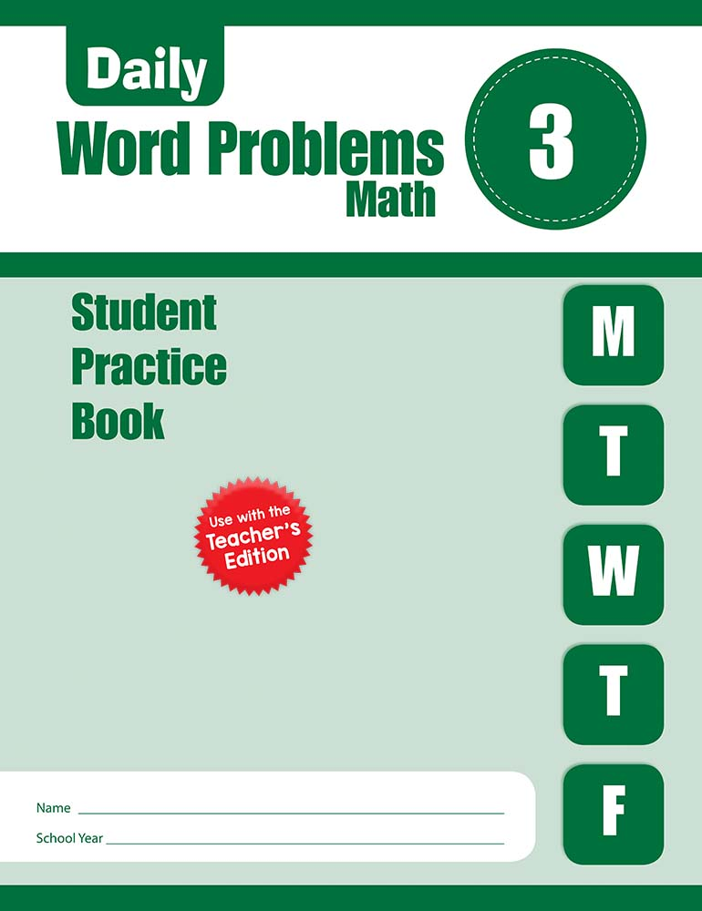 Picture of Daily Word Problems, Grade 3 - Student Workbook (5-pack)