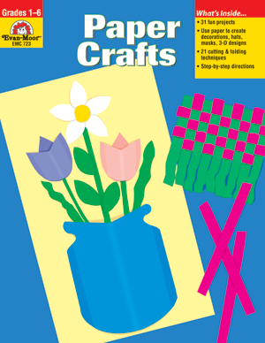 Picture of Paper Crafts- Teacher Reproducibles, E-book