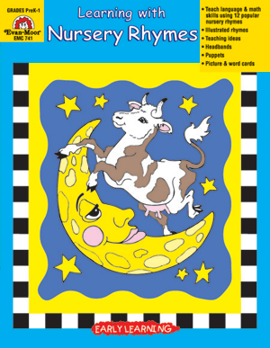 Picture of Learning with Nursery Rhymes, Grades PreK-K - Teacher Reproducibles, E-book