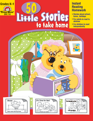 Picture of 50 Little Stories to Take Home, Grades K-1 - Teacher Reproducibles, E-book
