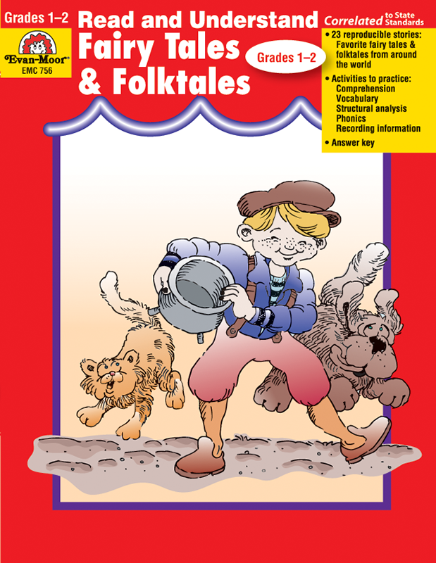 Picture of Read and Understand: Fairytales and Folktales, Grades 1-2 - Teacher Reproducibles, E-book