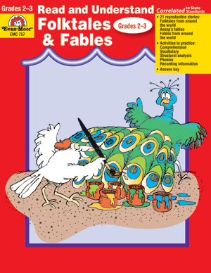Read and Understand: Folktales and Fables, Grades 2-3