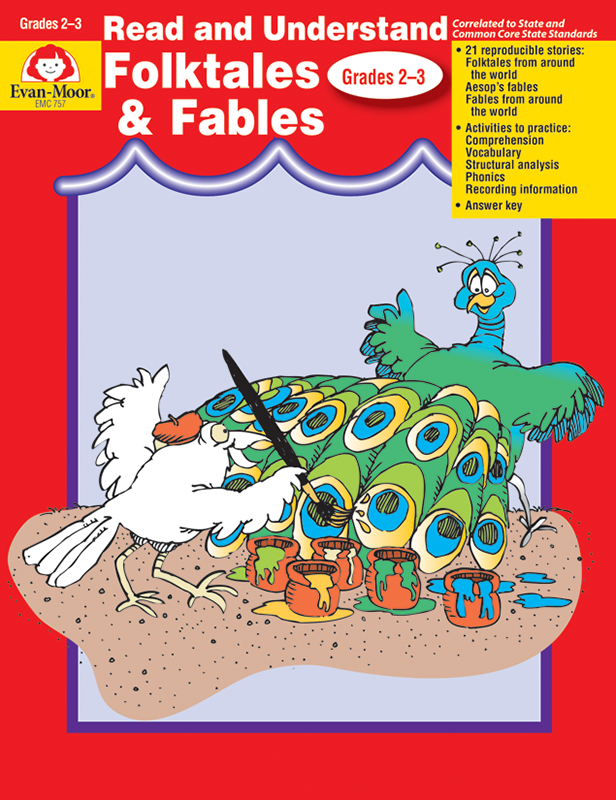 Picture of Read and Understand: Folktales and Fables, Grades 2-3 - Teacher Reproducibles, E-book