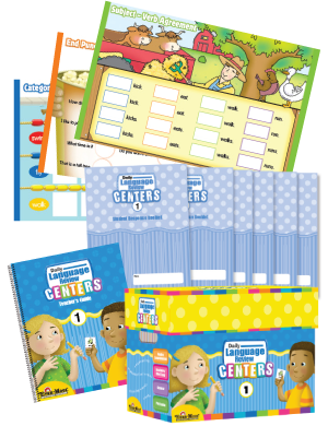 Picture of Daily Language Review Centers, Grade 1 with 20 add-on Student Booklets