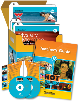 Picture of Hot Topics Set B with Add-on Materials for Six Students, Grades 4-8+