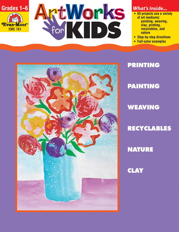 Picture of Artworks for Kids, Grades 1-6 - Teacher Reproducibles, E-book