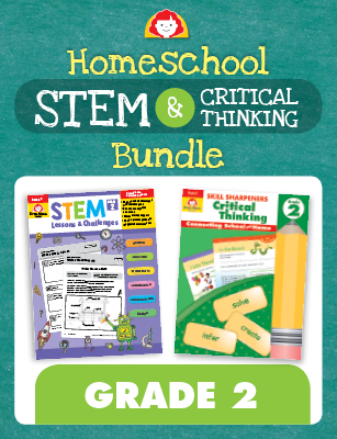 Picture of Homeschool STEM and Critical Thinking Bundle, Grade 2