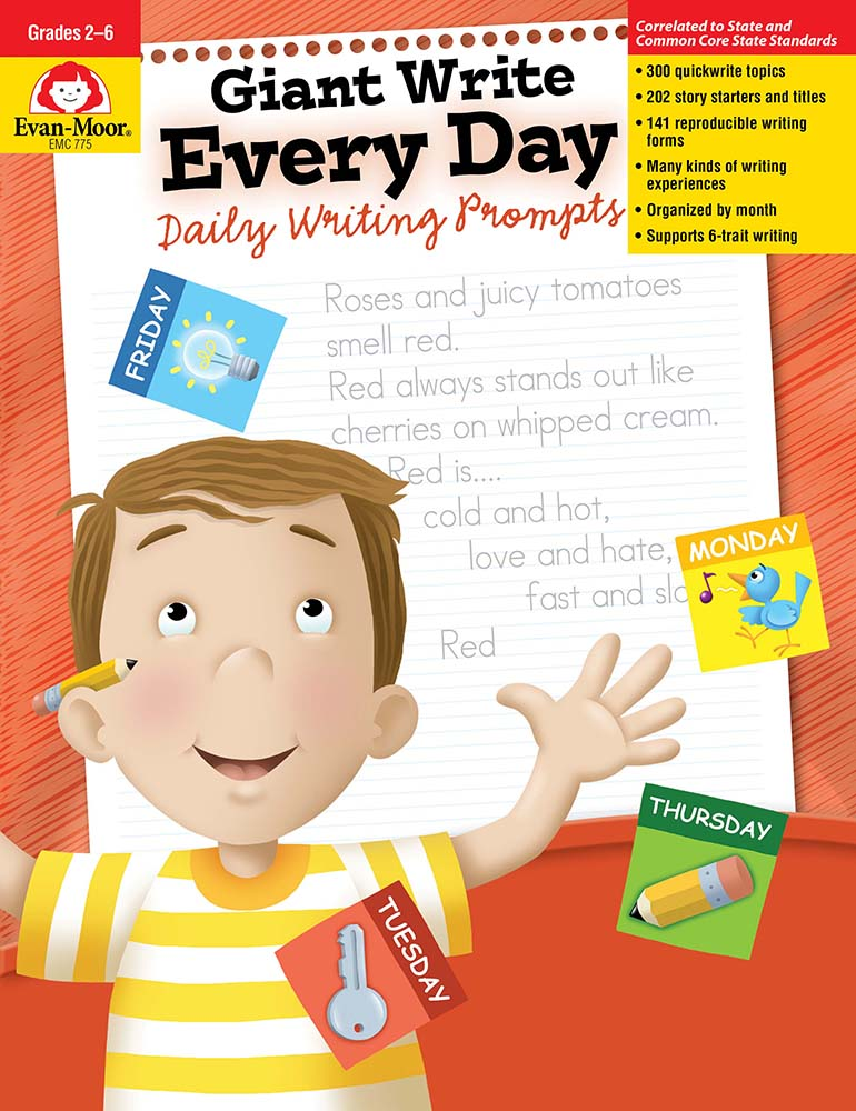 Giant Write Every Day: Daily Writing Prompts, Grades 2-6