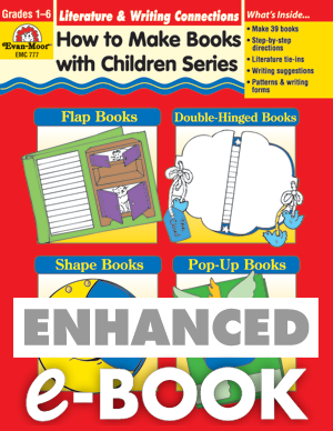 Picture of How to Make Books with Children: Literature and Writing Connections, Grades 1-6 - Teacher Reproducibles, E-book