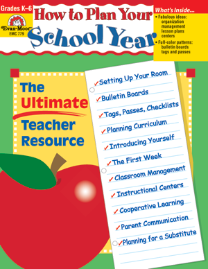Picture of How to Plan Your School Year, Grades K-6 - Teacher Resource, E-book