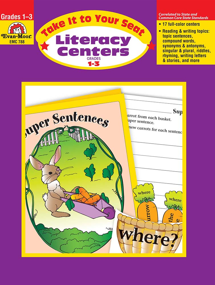 Picture of Take It To Your Seat: Literacy Centers, Grades 1-3 - Teacher Resource, Print