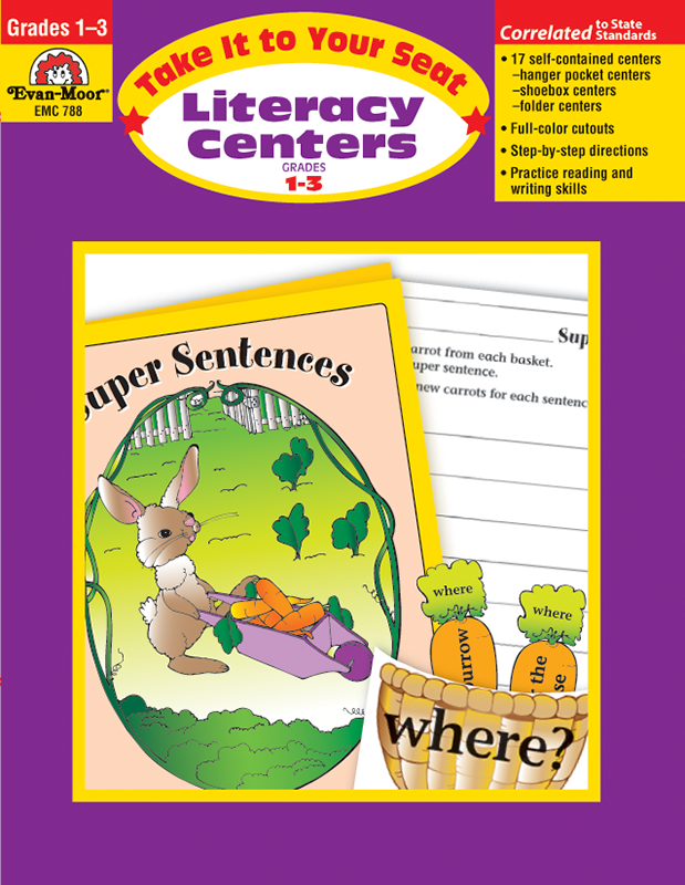 Picture of Take It To Your Seat: Literacy Centers, Grades 1-3 - Teacher Reproducibles, E-book