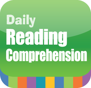 Picture of Daily Reading Comprehension, Grade 3 - Interactive Lessons Trial