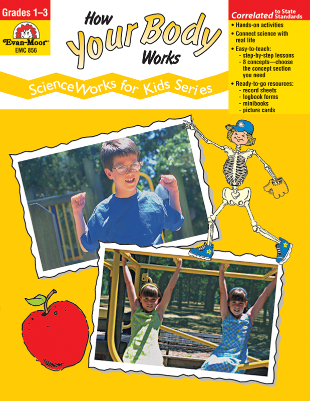 Picture of ScienceWorks for Kids: How Your Body Works, Grades 1-3 - Teacher Reproducibles, E-book