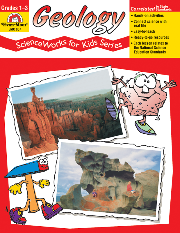 Picture of ScienceWorks for Kids: Geology, Grades 1-3 - Teacher Reproducibles, E-book