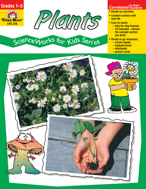 Picture of ScienceWorks for Kids: Plants, Grades 1-3 - Teacher Reproducibles, E-book