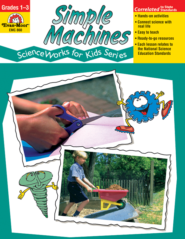 Picture of ScienceWorks for Kids: Simple Machines, Grades 1-3 - Teacher Reproducibles, E-book