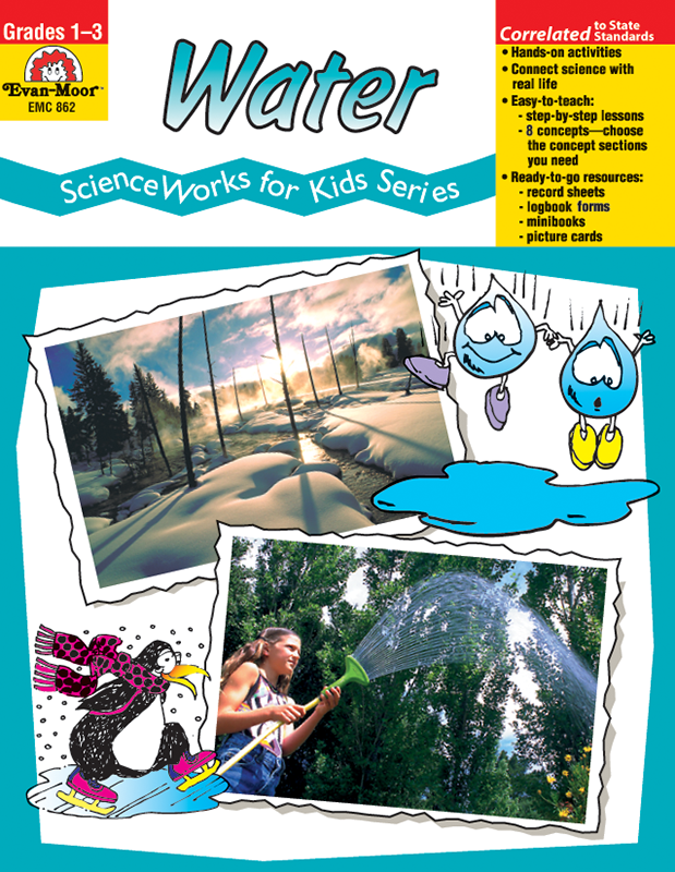 Picture of ScienceWorks for Kids: Water, Grades 1-3 - Teacher Reproducibles, E-book