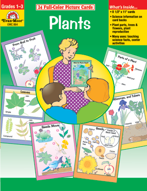 Picture of Science Picture Cards: Plants, Grades K-2 - Teacher Reproducibles, E-book