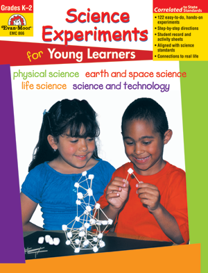 Picture of Science Experiments for Young Learners, Grades K-2 - Teacher Resource, Print