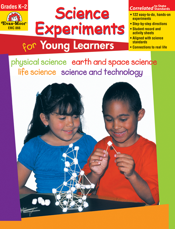 Picture of Science Experiments for Young Learners, Grades K-2 - Teacher Reproducibles, E-book