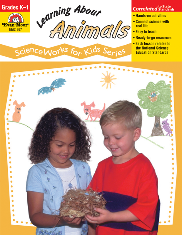 Picture of ScienceWorks for Kids: Learning About Animals, Grades K-1 - Teacher Reproducibles, E-book