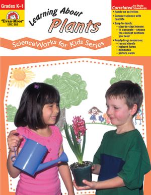 Picture of ScienceWorks for Kids: Learning about Plants, Grades K-1 - Teacher Reproducibles, E-book