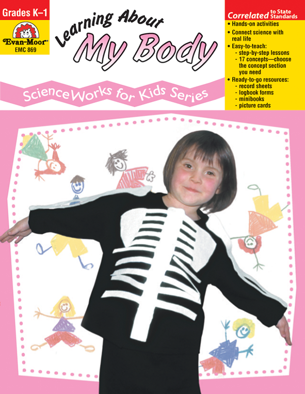 Picture of ScienceWorks for Kids: Learning About My Body, Grades K-1 - Teacher Reproducibles, E-book