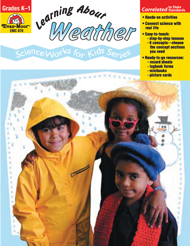Picture of ScienceWorks for Kids: Learning About Weather, Grades K-1 - Teacher Reproducibles, E-book