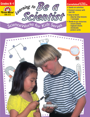 Picture of ScienceWorks for Kids: Learning to Be A Scientist, Grades K-1 - Teacher Reproducibles, E-book