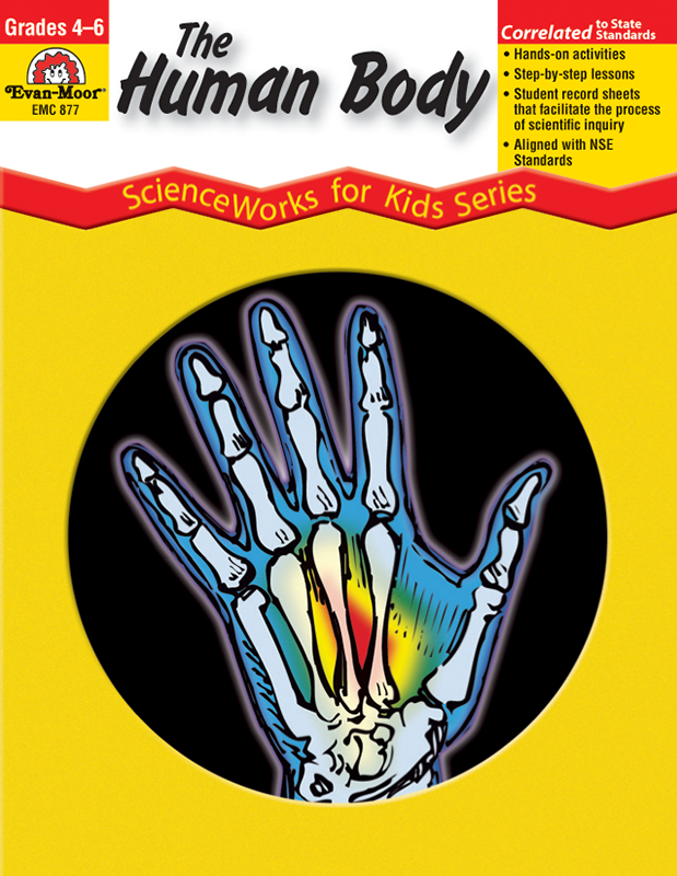 Picture of ScienceWorks for Kids: The Human Body, Grades 4-6+ - Teacher Reproducibles, E-book
