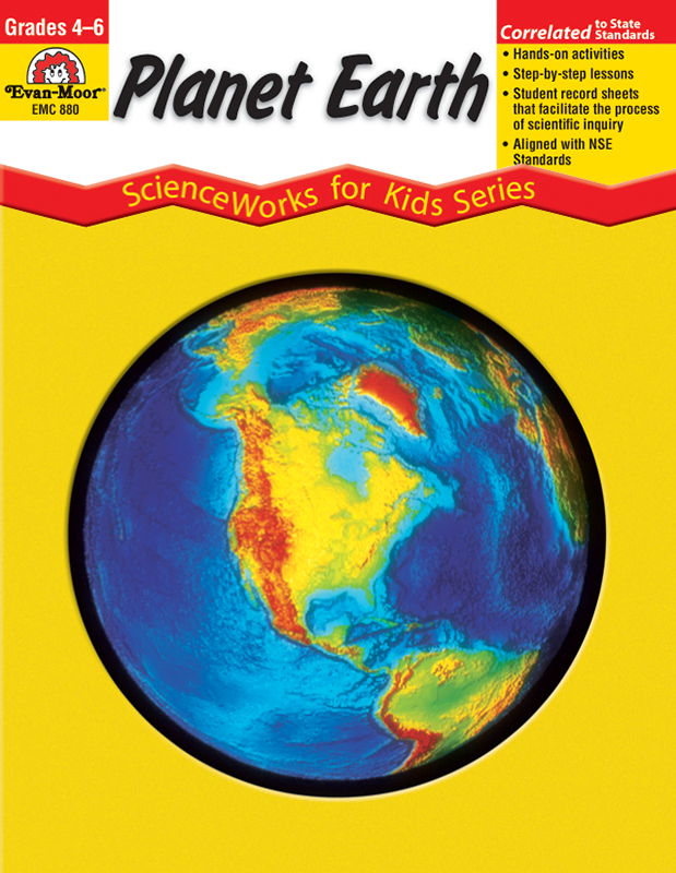Picture of ScienceWorks for Kids: Planet Earth, Grades 4-6+ - Teacher Reproducibles, E-book