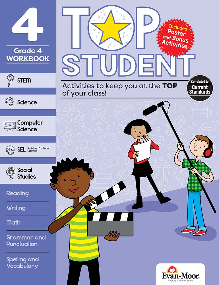 Picture of Top Student, Grade 4 - Activity Book