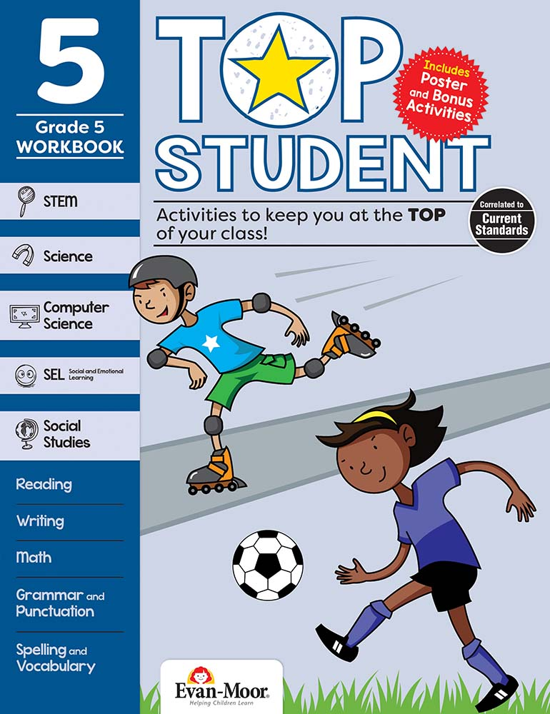Picture of Top Student, Grade 5 - Activity Book