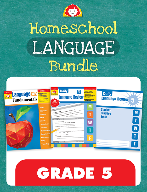 Picture of Homeschool Language Bundle, Grade 5