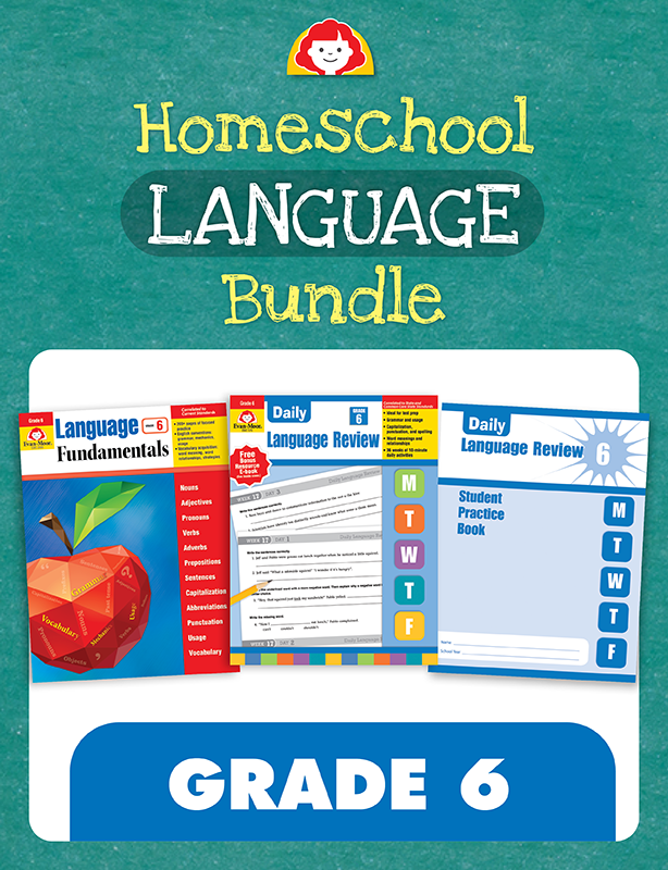 Picture of Homeschool Language Bundle, Grade 6