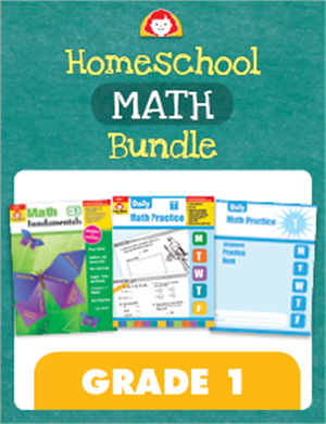 Picture of Homeschool Math Bundle, Grade 1