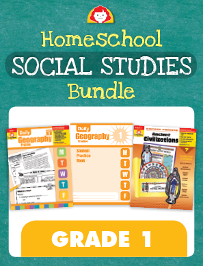 Picture of Homeschool Social Studies Bundle, Grade 1