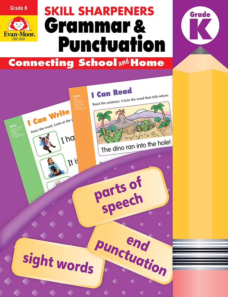 Picture of Skill Sharpeners: Grammar & Punctuation, Grade K - Activity Book