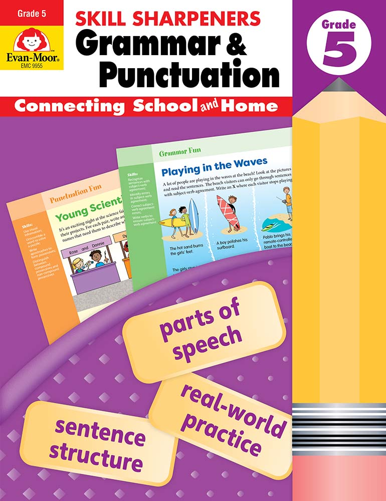 Picture of Skill Sharpeners: Grammar & Punctuation, Grade 5 - Activity Book