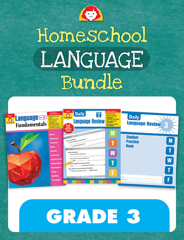 Picture of Homeschool Language Bundle, Grade 3